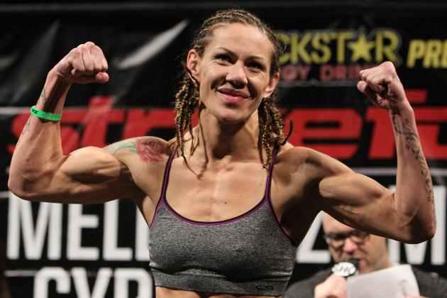 Cris Cyborg to UFC Champion Ronda Rousey: 'Step Up, B****'