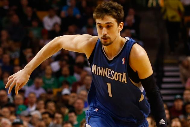 Shved Chosen for All-Star Rising Stars, Rubio and DWilliams Are Not