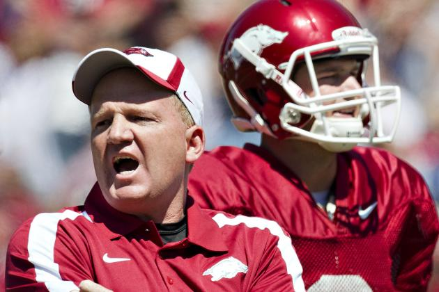 Former Arkansas Coaches Say Players Quit on Team