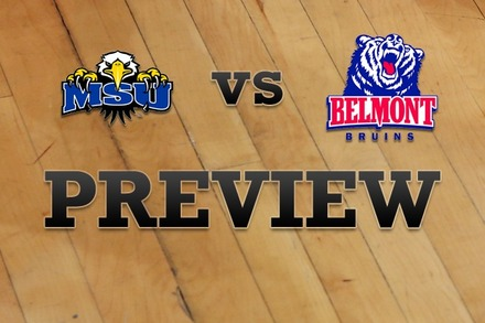 Morehead State vs. Belmont: Full Game Preview