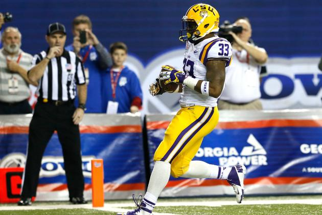 LSU Football: Why Jeremy Hill Will Have a Better Sophomore Year Than T.J. Yeldon