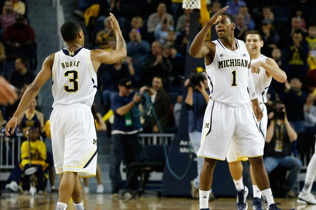 No. 1 Michigan 68, Northwestern 46
