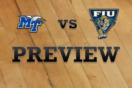 Middle Tenn State vs. FL Internationial: Full Game Preview