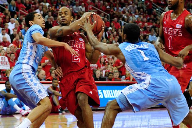 N.C. State's Lorenzo Brown Might Miss Games to Ankle Injury