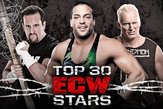 WWE Classics: WWE.com Releases List of Top 30 ECW Stars