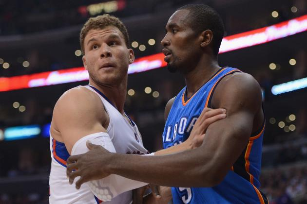 Oklahoma City Thunder: Reviewing Serge Ibaka's Improvement at the Midway Point