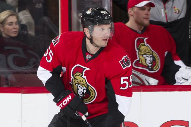 Gonchar (Lower-Body) Joins Spezza on Sens' Sidelines