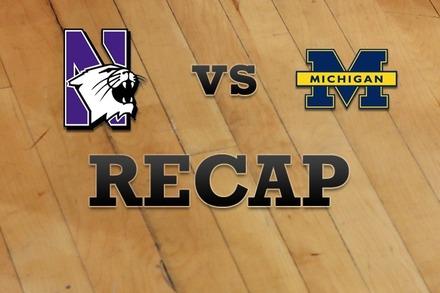 Northwestern vs. Michigan: Recap and Stats