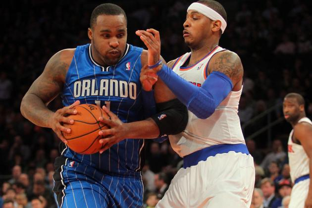 Glen Davis Breaks Left Foot