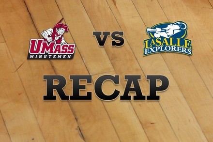Massachusetts vs. La Salle: Recap and Stats