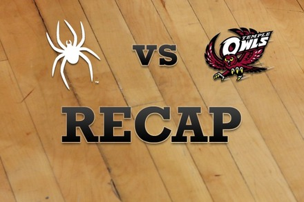 Richmond vs. Temple: Recap and Stats