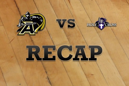 Army vs. Holy Cross: Recap and Stats