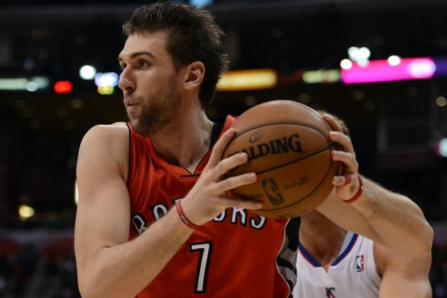 Raptors Admit to Looking at Bargnani Trade Options