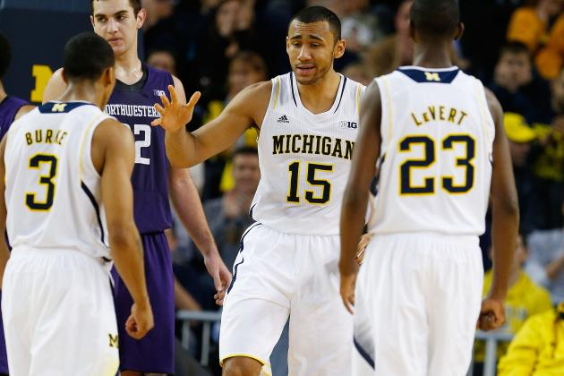 Michigan Hits the 20-Win Mark in January with a 68-46 Pasting of Northwestern