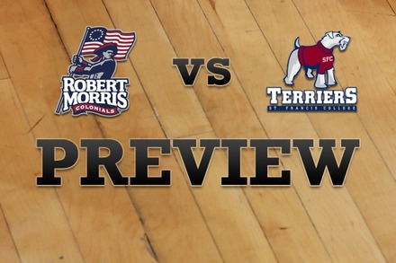 Robert Morris  vs. St. Francis (NY): Full Game Preview