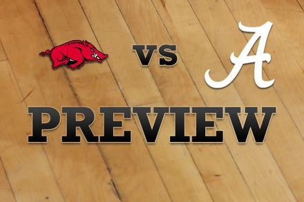 Arkansas vs. Alabama: Full Game Preview