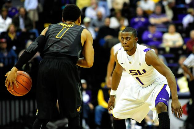 Hickey, String Lead LSU over Seventeenth-Ranked Mizzou