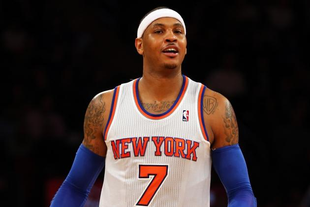 Where Does Carmelo Anthony Rank Among Greatest Knicks After Setting Record?