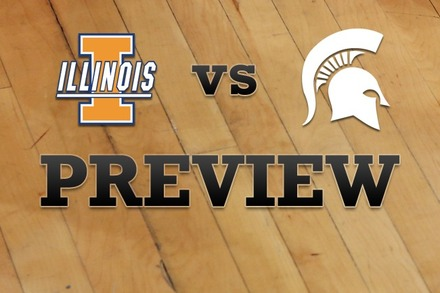 Illinois vs. Michigan State: Full Game Preview