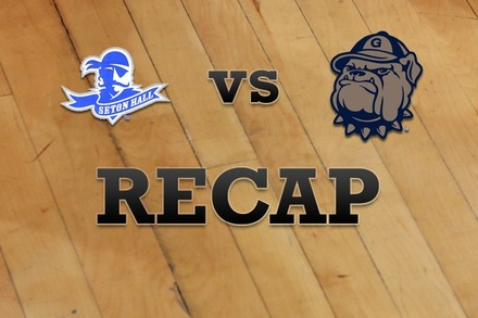 Seton Hall vs. Georgetown: Recap and Stats