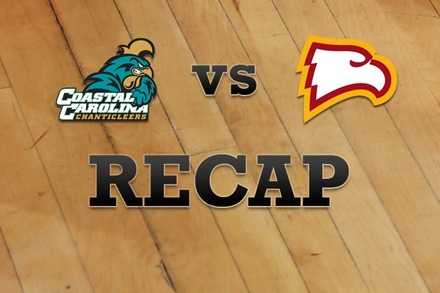 Coastal Carolina vs. Winthrop: Recap and Stats