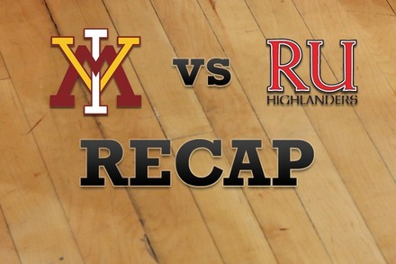 Virginia Military vs. Radford: Recap and Stats