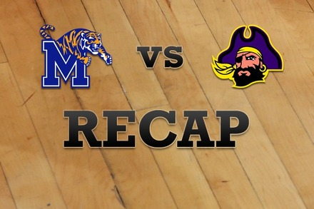 Memphis vs. East Carolina: Recap and Stats