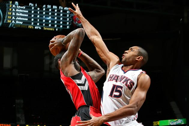 Hawks Survive for Win over Depleted Raptors
