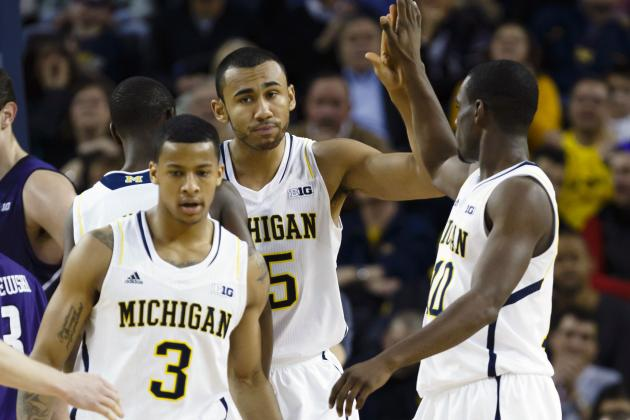 After Win, U-M Looks Ahead to Bloomington