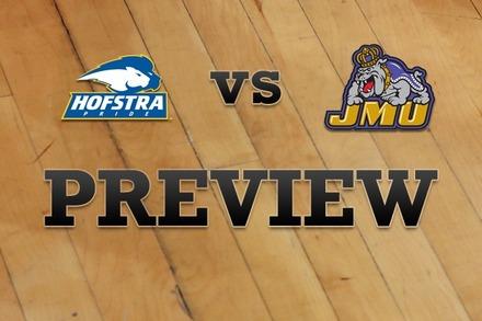 Hofstra vs. James Madison: Full Game Preview