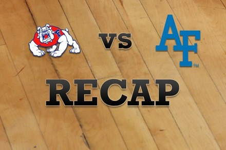 Fresno State vs. Air Force: Recap and Stats