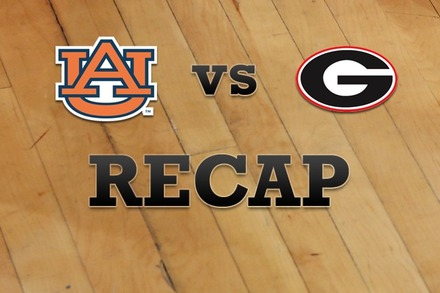 Auburn vs. Georgia: Recap and Stats