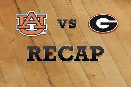 Auburn vs. Georgia: Recap and Stats