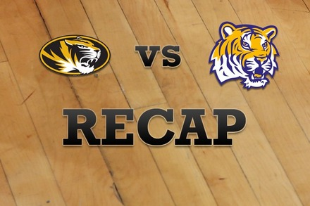Missouri vs. LSU: Recap and Stats