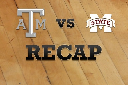Texas A&M vs. Mississippi State: Recap and Stats
