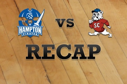 Hampton vs. SC State: Recap and Stats