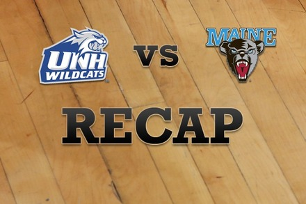 New Hampshire vs. Maine: Recap and Stats