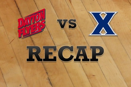 Dayton vs. Xavier: Recap and Stats
