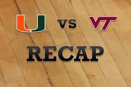 Miami vs. Virginia Tech: Recap and Stats