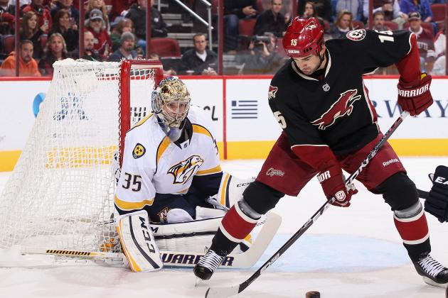 Coyotes Battle Inconsistent Start; Days in the Desert Could Be Numbered