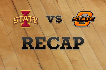 Iowa State vs. Oklahoma State: Recap and Stats