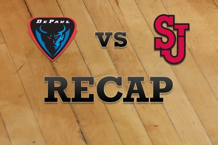 DePaul vs. St John's: Recap and Stats