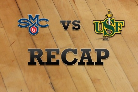 Saint Mary's vs. San Francisco: Recap and Stats