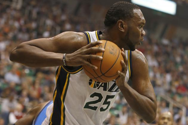 Utah Jazz: In Need of a Win, Jefferson and Millsap Provide One