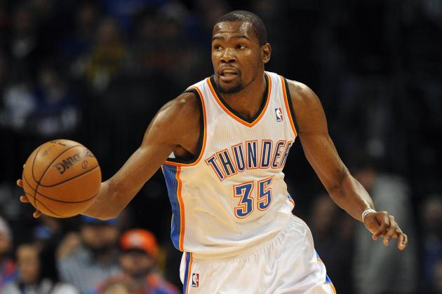 Appreciating Kevin Durant, the Biggest Offensive Freak Show of All Time