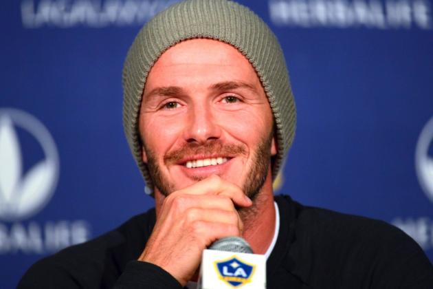 David Beckham Reportedly Will Sign with French Club Paris Saint-Germain