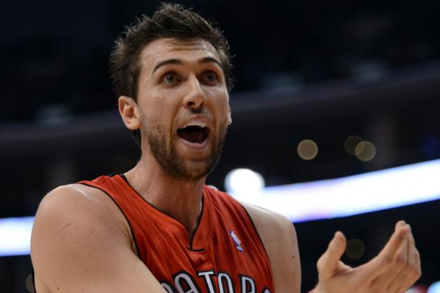 Toronto Raptors Open to Trading Andrea Bargnani