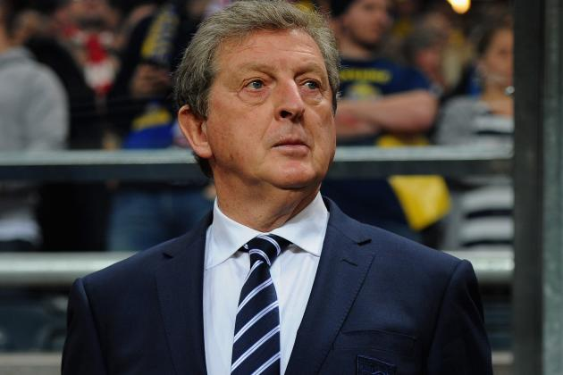 England Manager Roy Hodgson Has Named His Squad to Face Brazil