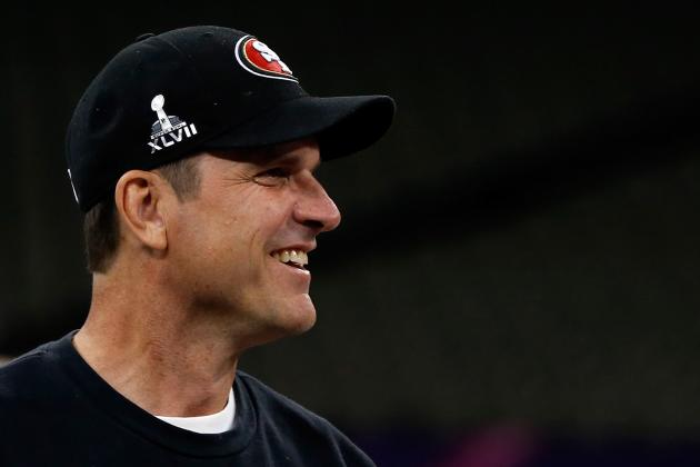 Jim Harbaugh Says the 49ers Had a Perfect Wednesday Practice