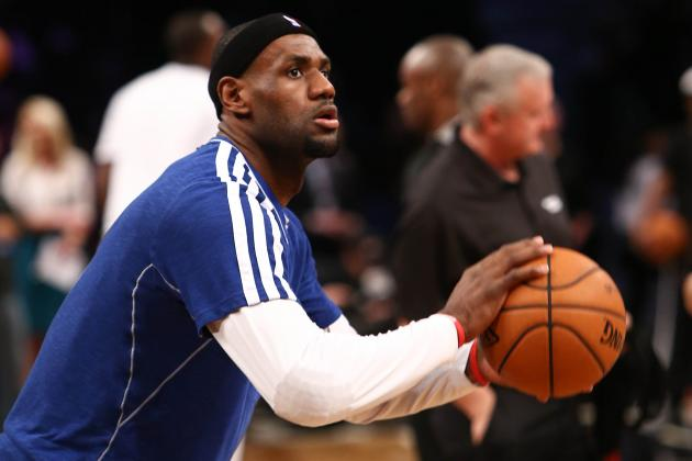 LeBron James Is Upset He Will Miss the Super Bowl Because of a Heat Game